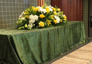 Just a simple funeral -